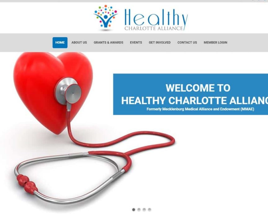 A non-profit informational site that helps Charlotte become a more healthy community. They donate thousands each year to worthy causes.