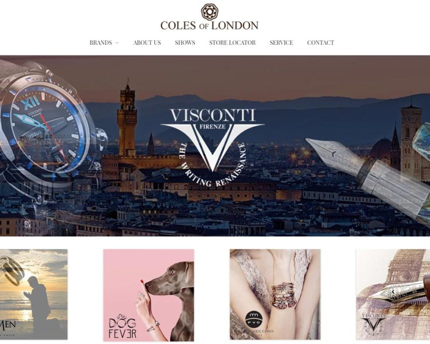 Coles of London | Luxury Jewelry and Pens