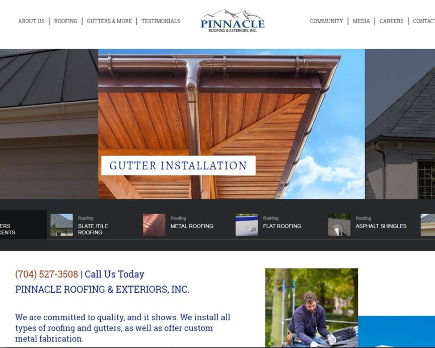 Pinnacle Roofing and Exteriors | Charlotte NC