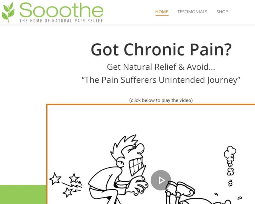 Sooothe Natural Pain Relief 1222